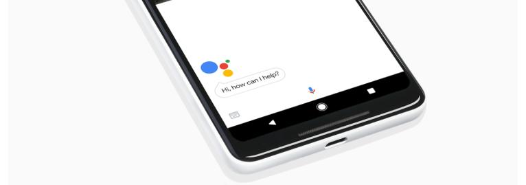 Google Pixel 2 with no headphone jack