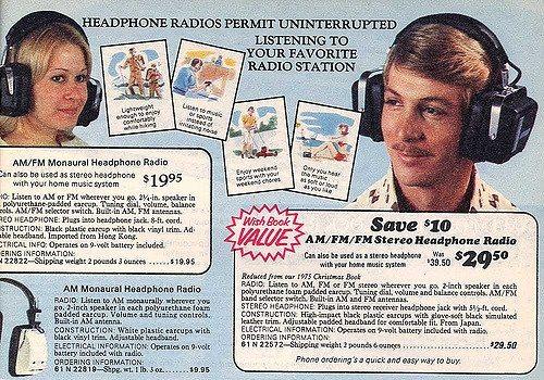 Overear headphones