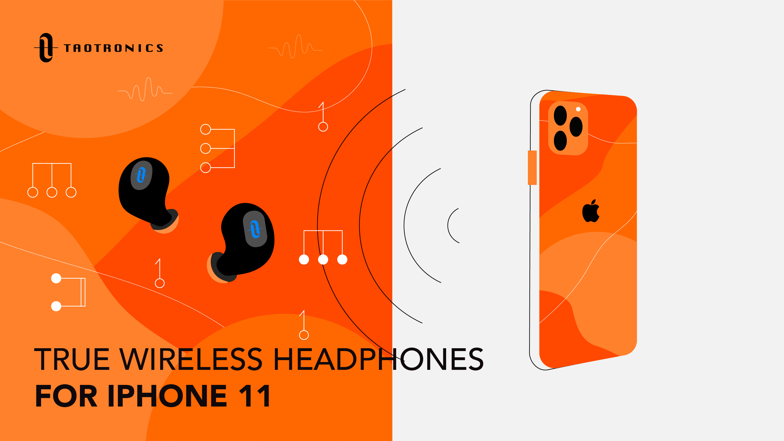 How To Connect Headphones To An Iphone 11 Taotronics Blog
