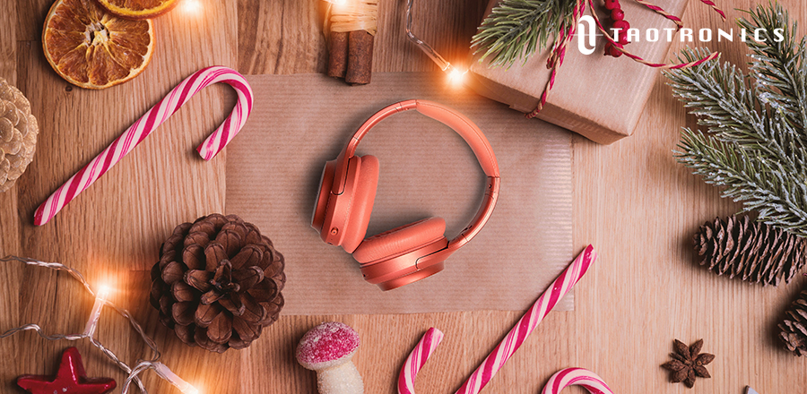 TaoTronics SoundSurge 60 headphones Orange 20191206 Connect Bluetooth Headphones to your PS5