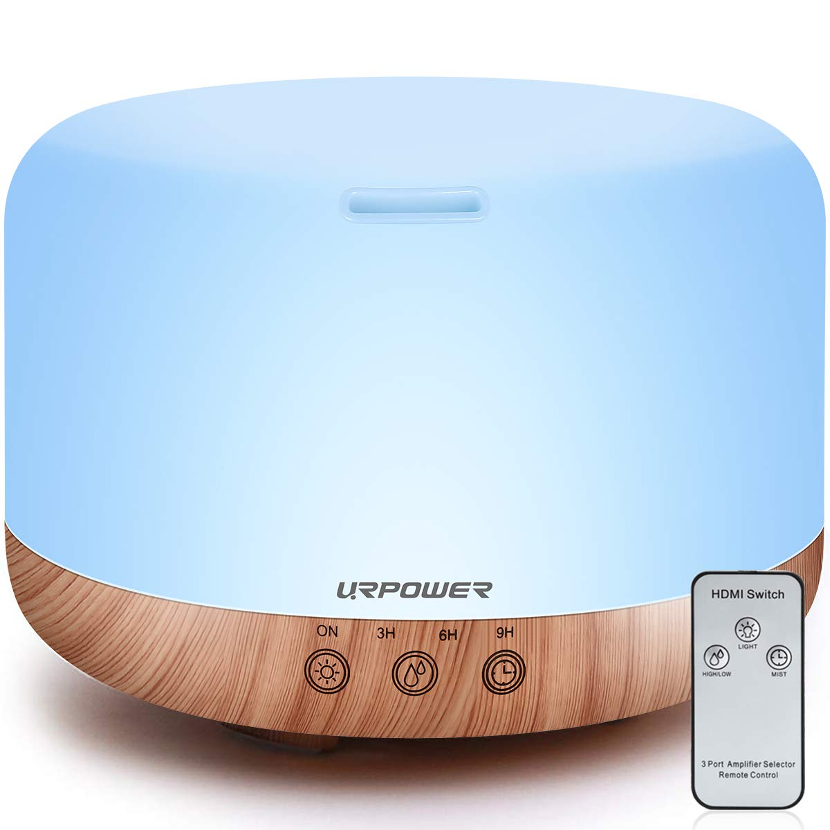 URPOWER Colorful OD-A002 Humidifier Diffuser