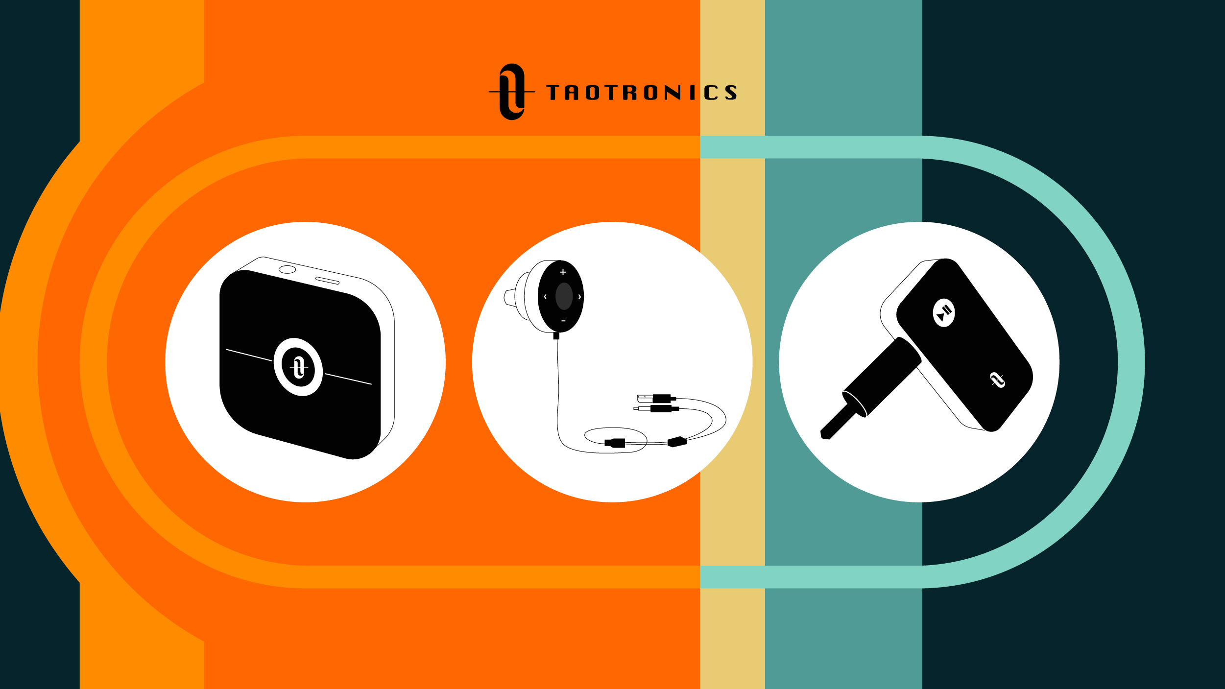 TaoTronics blog cover - 4 Unbelievable Uses for a Bluetooth Audio Receiver