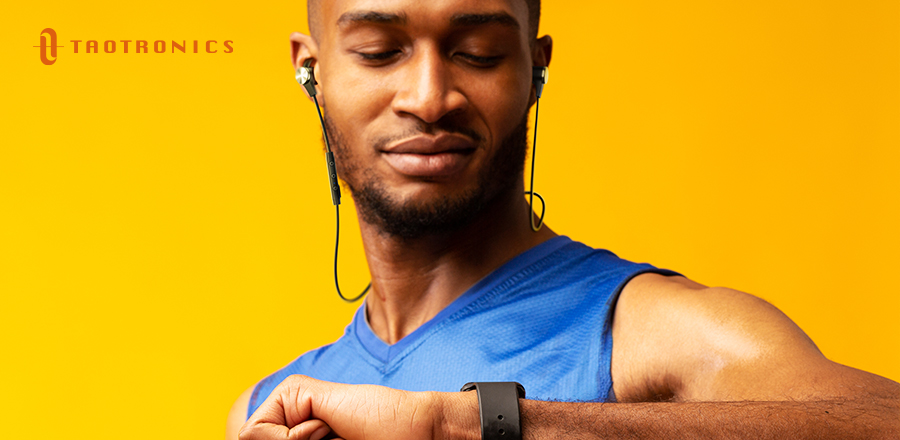 TaoTronics headphones SoundElite 71 - Bluetooth headphone battery life