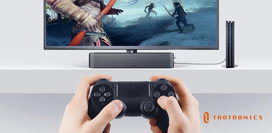 Best Soundbar for PC Gaming: TaoTronics TT-SK028