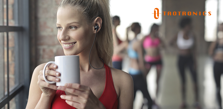 TaoTronics SoundElite 72 are great headphones that will stay in while you workout.