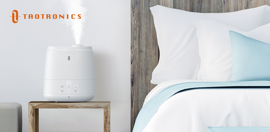 TaoTronics 6L Humidifiers Warm and Cool Mist Humidifiers For Home