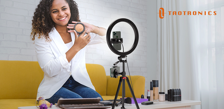 TaoTronics TT-CL027 Ring Light - If you're interested in creating online content, a phone ring light will up your game dramatically.