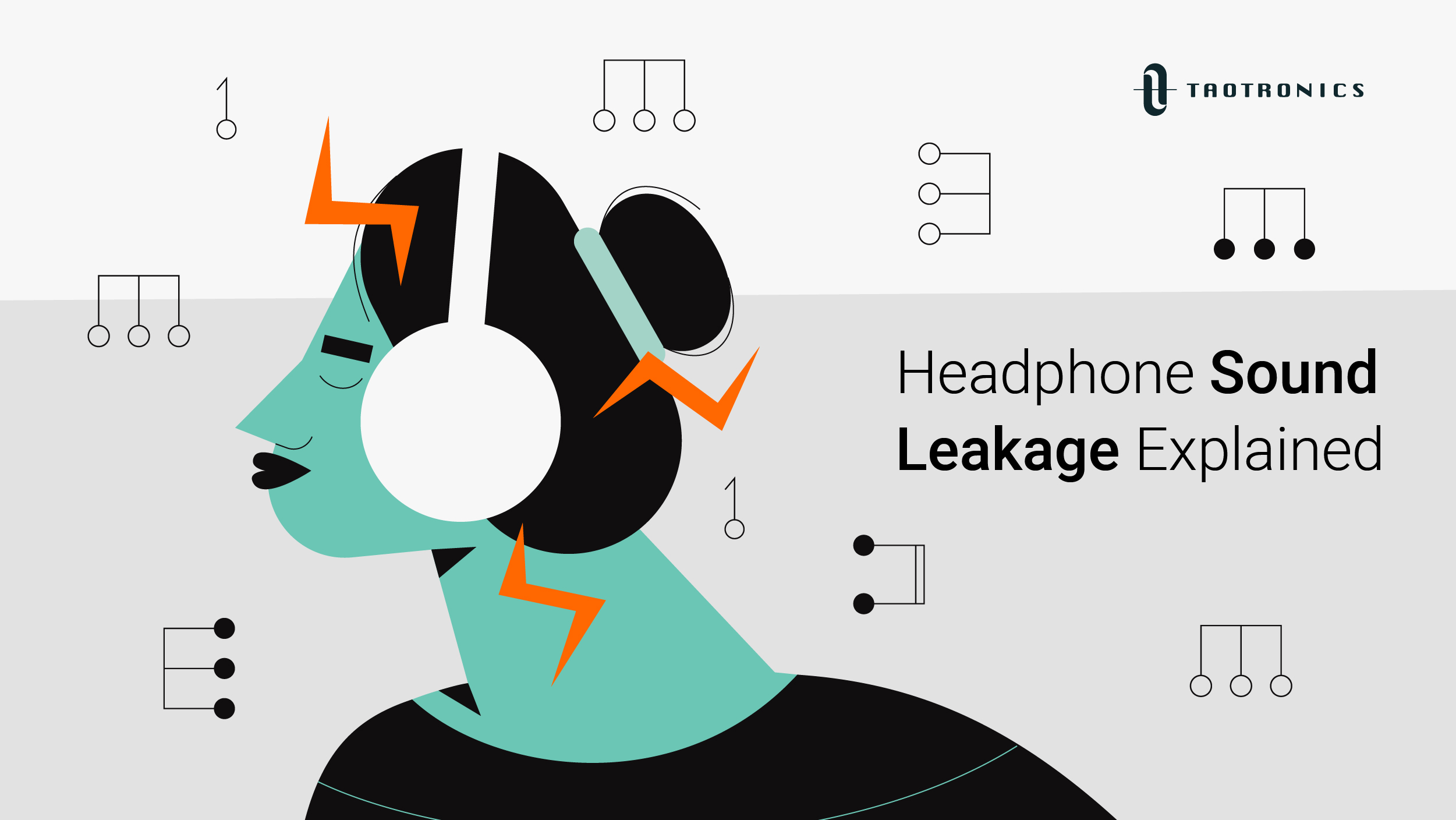 Taotronics-blog-What is Headphone Sound Leakage