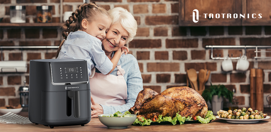 Fry healthy food with the TaoTronics 6 Quart Air Fryer